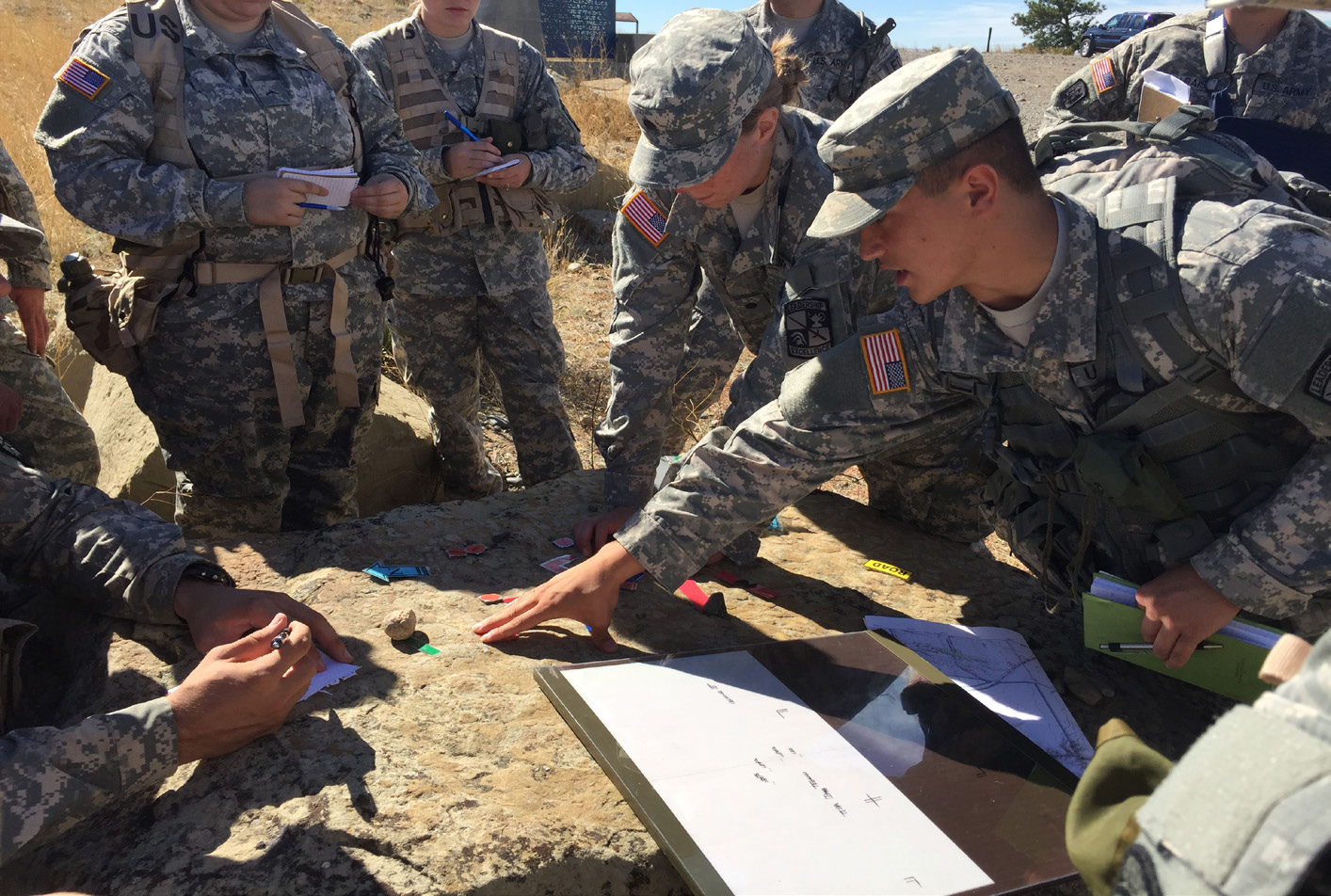 creating leadership for officers in the military Certified instructors are part of a new leadership program launched by the navy's top enlisted sailor  training courses for petty officers -- the middle ranks of the navy's enlisted -- are.